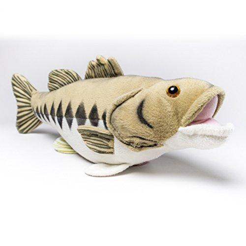 【リアル&モコモコな魚たち!ゲームフィッシュぬいぐるみ】 キャビンクリッターズ - 「ブラックバス」