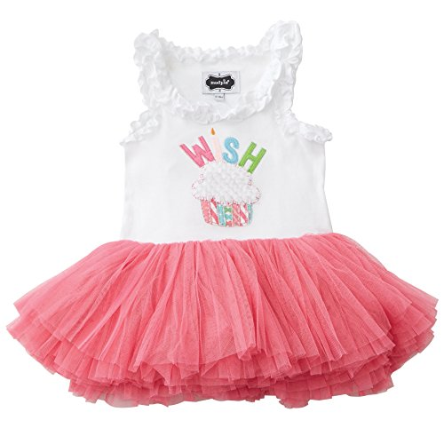 Mud Pie Baby Girls' Toddler Wish Tutu Dress, 2T