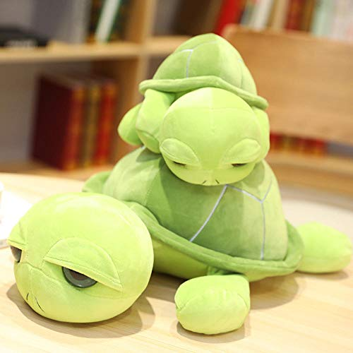 VGSD® Cartoon Baby Schildkröte Plüschtier Plüschtier, Schildkröte Puppe Spielzeug Cartoon Soft Stuffed Baby, Jungenbett Kreative Puppe Im Kinderzimmer-55Cm.