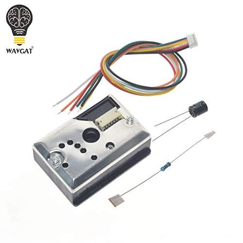 GP2Y1014AU0F Kompakter optischer Staubsensor kompatibel GP2Y1010AU0F GP2Y1010AUOF Rauchpartikel-Sensor mit Kabel