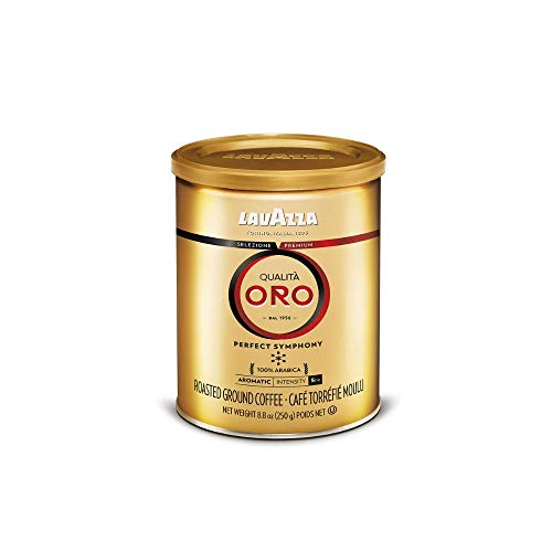 6Pack 8.8oz Lavazza Qualita Oro Ground Medium Roast Coffee Blend  $22 at Amazon
