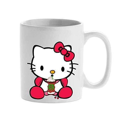Personalisierte Tasse, Starbucks-Cartoon-Tasse, Hello Kitty, Erstellen Sie Ihre individuelle Tasse, Teetasse, 325 ml