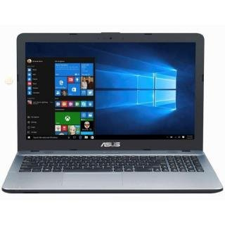 Asus Laptop Pentium Quad Core, 15.6 Inches, N4200 CPU, 4Gb RAM, 1Tb HDD, Win10 (Silver, X541Na-Go125T )