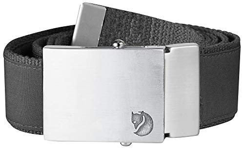 FJÄLLRÄVEN Herren Belt Canvas Money, dark grey, One size, F77254