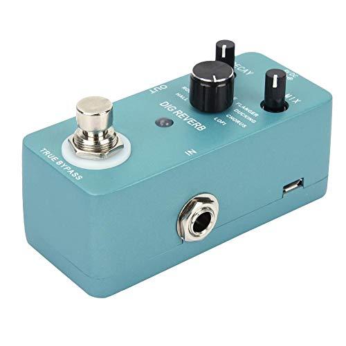 Redxiao 【𝐅𝐫𝐮𝐡𝐥𝐢𝐧𝐠 𝐕𝐞𝐫𝐤𝐚𝐮𝐟 𝐆𝐞𝐬𝐜𝐡𝐞𝐧𝐤】 9 Halltypen Effektpedal, Hallpedal, LED-Kontrollleuchte mit Bypass-Schalter für Gitarreninstrument