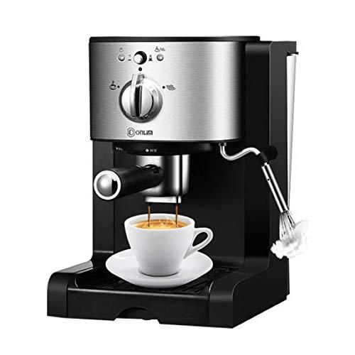 SYSWJ Cafetera Máquina De Café Espresso Cápsula Comercial Semiautomática Para El Hogar Tres En Uno, A