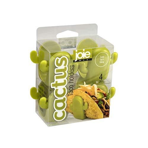 MSC International Joie Cactus Taco Holders, Green, One Size, Greeb
