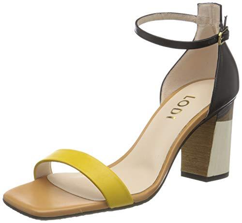 lodi Mädchen Gunar-ge Sandale mit Absatz, ZITRONE, 35 EU