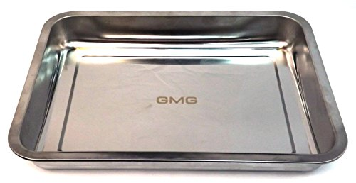 %8 OFF! GMG Pellet Grill Stainless Large Pan - GMG-4016