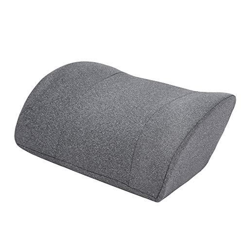 AmazonBasics - Almohada viscoelástica para cuello, gris, con paneles