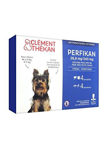 Perfikan antiparasitaire très petit chien 0/5 kg 4 pipettes