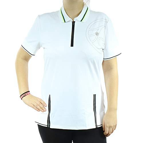 Sportalm Damen Polo Shirt Guana 899045717 (02 Weiß, 42)