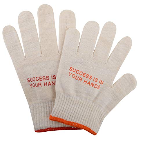 Classic Cotton Roping Gloves (12-Pack), Large