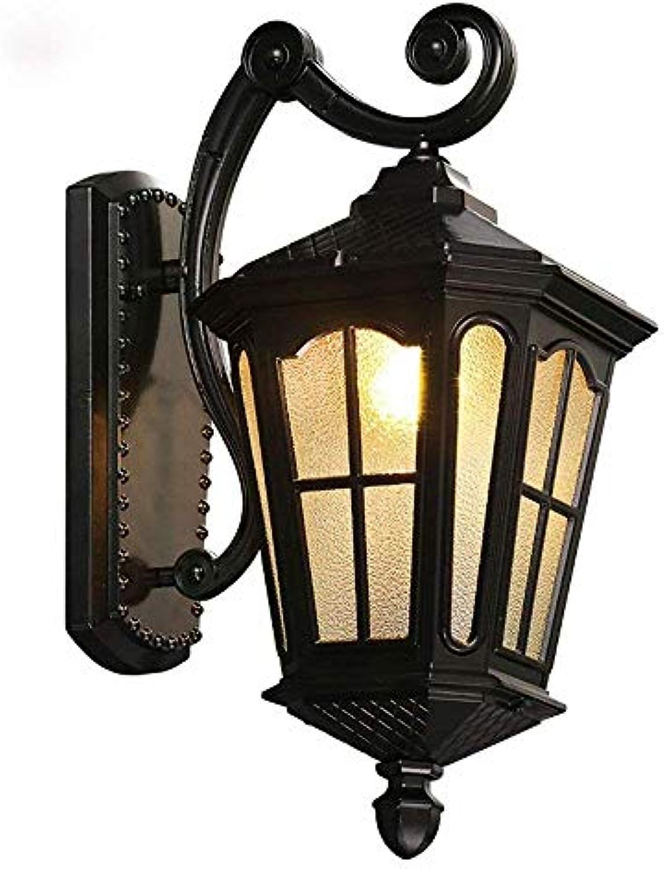 Deckenbeleuchtung Deckenleuchte Pendelleuchten Vintage Kerosin Laterne Licht Rusty Mattschwarz Korridor Flur Wandleuchte