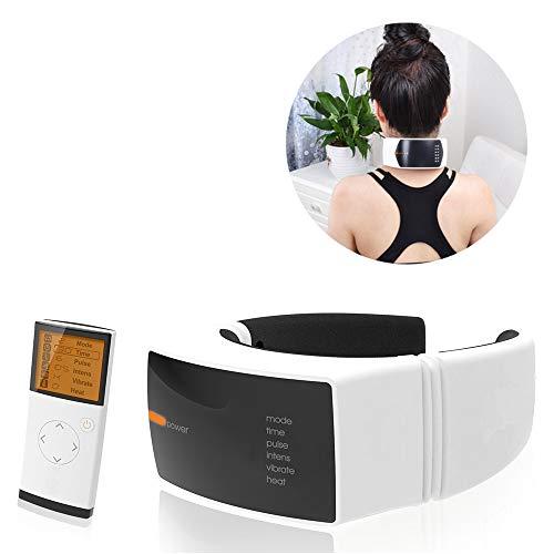bester der welt Wiederaufladbares U-Hals-Massagegerät, 6 Modi für die Halswirbelsäule, Infrarot-Heizung, drahtlose Kommunikation… 2021