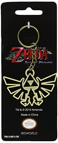 Bioworld Zelda Schlüsselanhänger Triforce Logo