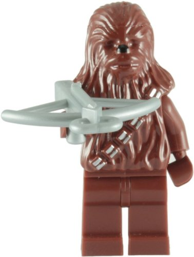LEGO Star Wars - Minifigur Chewbacca mit silberner Armbrust