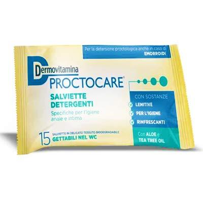 Dermovitamina Protocare salviette detergenti 15 pezzi