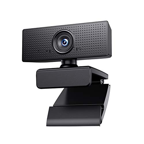 1080P Webcam USB Camera, Vmotal Web Cam with 110-degree Wide Angle Widescreen USB HD Camera, Plug and Play, Microphone for PC Laptop Desktop Web Camera for Zoom YouTube Skype Face Time…
