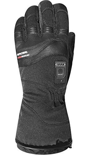 RACER par de guantes calentables moto Connectic 3negro Talla XXXL/12