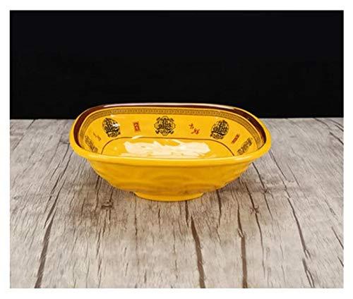 Cuenco de Ceramica Cuenca Sopa De Imitación Vajilla De Porcelana Soup Bowl Cara Tazón Grande En Escabeche Fish Bowl Lavar Las Verduras Ollas (Color : 24.8cm/1400ml)