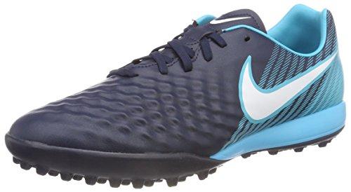 Nike MAGISTA X ONDA II TF 844417 414, Unisex-Erwachsene Niedrig, Mehrfarbig (Indigo 001), 43 EU