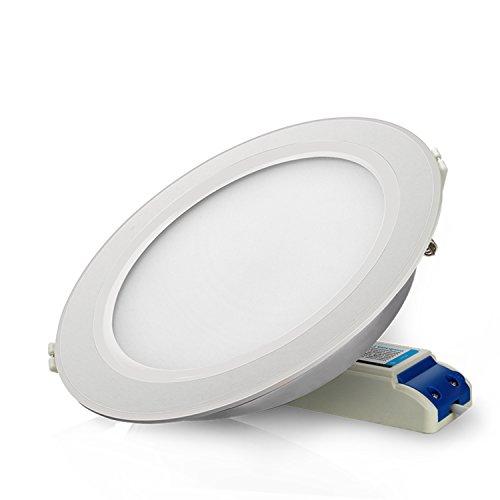 LIGHTEU®, Milight RGBCCT 12 WATTS LED Deckenleuchte, smart rf aktiviert Touch Remote Wifi Steuerung LED Downlight Deckenlampe 12W, FUT066