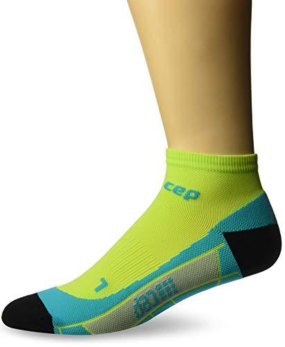 CEP Herren Low Cut Men Socken, Kalk/Hawaii Blue, Gr. 46-50 (Herstellergröße:V)