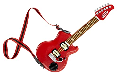 Little Tikes My Real Jam Electric Guitar, Toy Guitar with Case and Strap, 4 Play...