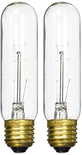 (2 Pack) Zoo Med Laboratories AZMHLC25 25-Watt Highlights Incandescent Bulb, Clear