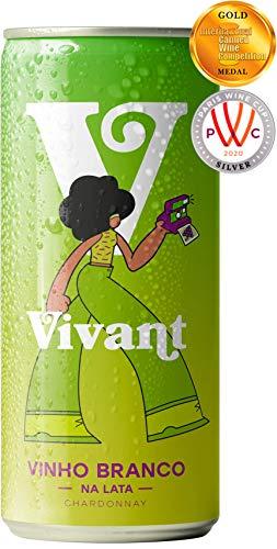 Vinho Branco em Lata Vivant Wines, 269 ml