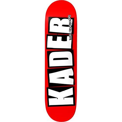 Baker Kader Logo Skateboard Deck - 9.00'