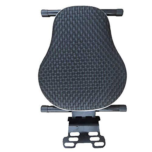 Lounayy Kindersitz Für Fahrrad - Motorrad Roller Basic Mode Vorne Klappsitz Batterie Autosicherheitssitz Sale Coole Sachen (Color : Schwarz)