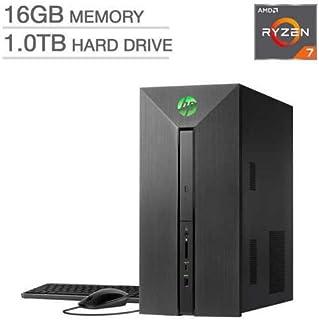 HP Performance Pavilion 580-137c Desktop 16GB AMD Ryzen 7 4GB Radeon RX 550 [並行輸入品]