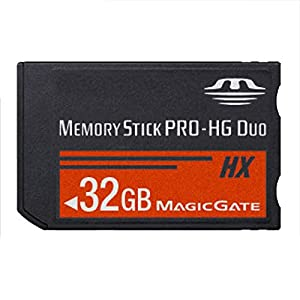 SHEAWA Memory Stick MS Pro Duo - Tarjeta de Memoria para cámara Sony (8 GB, 16 GB, 32 GB, 64 GB, PSP y Cybershot)