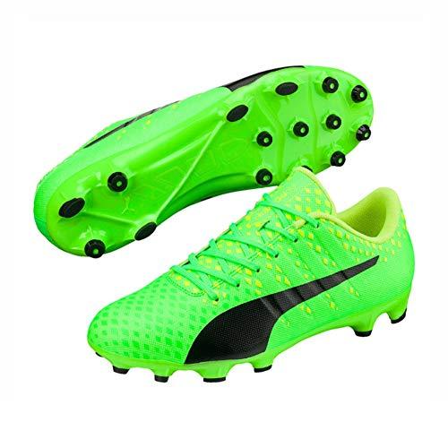 Puma EvoPower Vigor 3 AG Fußballschuhe (41 EU, grün/schwarz)