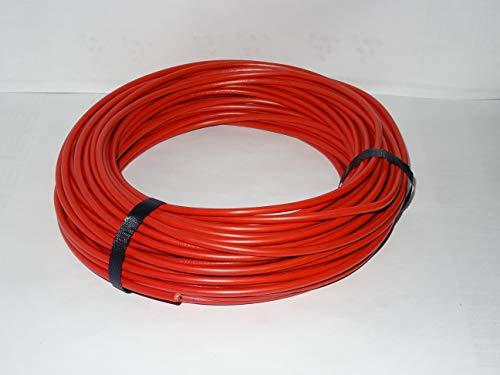 5m 10mm² LAPP Kabel H07V-K Einzelader Litze Leitung Einzelader flexibel (Rot)
