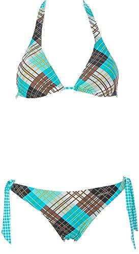 Shiwi Damen Neckholder Triangel Bikini Türkis 42