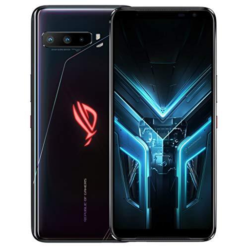 ASUS ROG Gaming Phone 3 (Strix Edition) ZS661KS Dual-SIM 256GB ROM + 8GB RAM Android Factory Unlocked 5G Smartphone (Black) - International Version