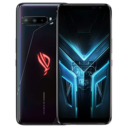 "ASUS ROG Phone 3 Strix 16,7 cm (6.59"") 8 GB 256 GB SIM Doble 5G USB Tipo C Negro Android 10.0 6000 mAh ROG Phone 3 Strix, 16,7 cm (6.59""), 8 GB, 256 GB, 64 MP, Android 10.0, Negro"