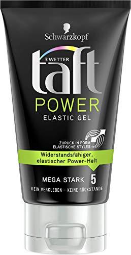 Drei Wetter Taft Gel Power Elastic mega starker Halt 5, 6er Pack(6 x 150 ml)