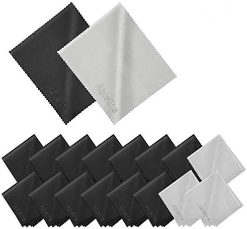 18 Pack Premium Microfiber Cleaning Cloths Lintfree Fiber Cleaning Cloth for Cleaning Lenses product image