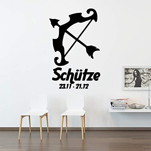 YuanMinglu Etiqueta de Tiro con Arco de Dibujos Animados Papel Pintado de Vinilo Impermeable Decoración para el hogar Etiqueta de refrigerador Fondo Arte de la Pared Apliques Aterrizaje en