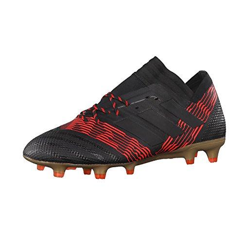 adidas adidas Herren Nemeziz 17.1 FG Fußballschuhe, Mehrfarbig (Cblack/Cblack/Solred Cp8932), 40 2/3 EU