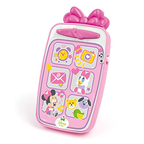 Clementoni 14949 - Disney Baby Mickey Smartphone, meerkleurig Disney Baby Minnie Smartphone