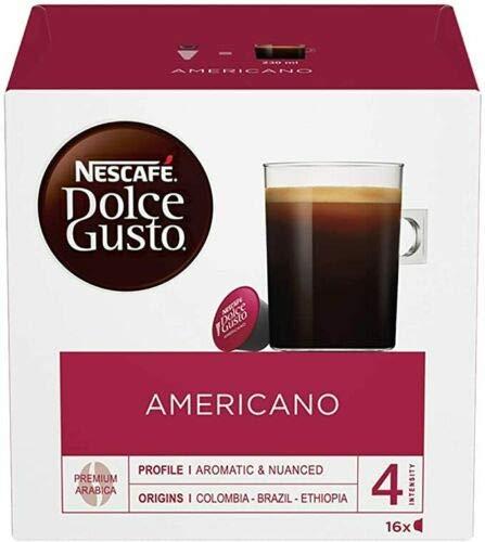 Nes Café Dolce Gusto 3 sabores en conjunto: Americano + Espresso + Perú 44 cápsulas de café
