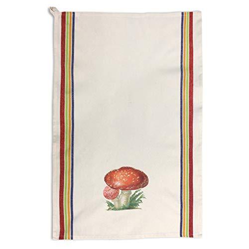 Custom Decor Kitchen Towels Mushroom Vintage Look F Food