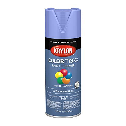 Krylon K05573007 Colormaxx Spray-Paints, Aerosol, Periwinkle
