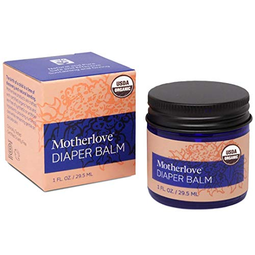 Motherlove Diaper Balm (1 oz.) Cloth Diaper Safe Herbal Ointment –...