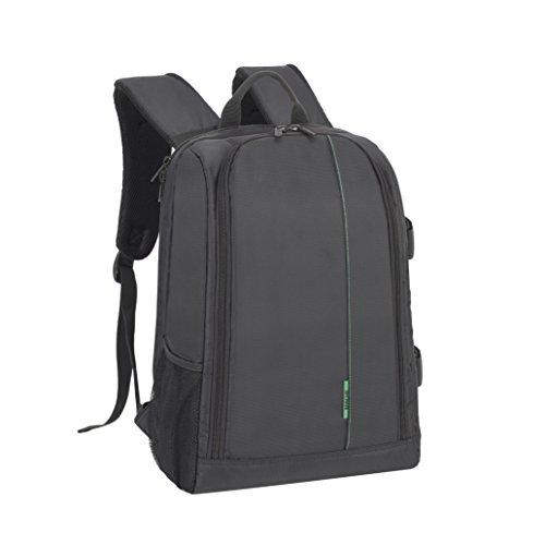 RIVACASE DSLR-Kamerarucksack - Stilvolle Tasche mit Laptopfach (15.6
